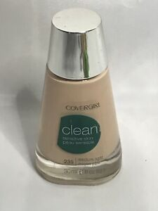 CoverGirl Clean Sensitive Liquid Makeup, # 235 Medium Light, 1 fl oz Bottle