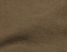 Upholstery Fabric Khaki Slipcover Washed Twill 100% Cotton Heavyweight Dark Bty