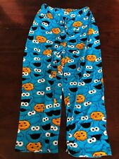 Sesame Street Cookie Monster Blue Sleepwear Pants Large(36-38). TL9