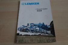 128045) Lemken Kompakt-Grubber Kristall Prospekt 09/2010
