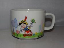 Vintage Walt Disney Productions PINNOCHIO 8oz. Stackable Mug Cup Porcelain