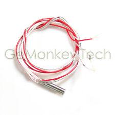 200 ° c pt 100 Pt100 termosensor sensor de temperatura sonda 3 metros de silicona