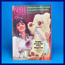 DDR-Zeitschrift NBI 49/1971 Radebeul Ferdinandshof Stolpe Dresden Halina Kunicka