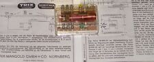 TRIX ( 6592 ) RELAIS ELECTROMECANIQUE POUR AUTOMATISMES TOUTES ECHELLES