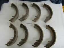 WILLYS JEEP BRAKE SHOE SET FOR 4 WHEELS CJ3B CJ5 CJ6 M38A1 807376 NEW!