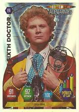 """Doctor Who Alien Armies - """"The Sixth Doctor"""" Embossed Foil Card E6"""