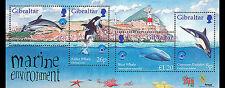 UNESCO Year of the Ocean souvenir sheet mnh 1998 Gibraltar dolphins whales