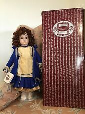 "PATRICIA LOVELESS 21"" FRENCH REPRO antique BRU DOLL MARGARET porcelain bisque"