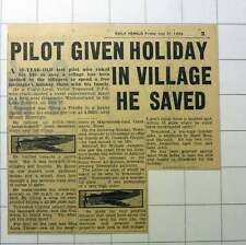 1953 Flight Lt Victor Townsend Given Holiday In Grasmere Village