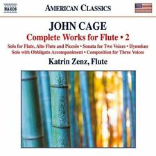CLASSICAL V.A.-JOHN CAGE: COMPLETE WORKS FOR FLUTE . 2-JAPAN CD C15