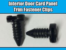 20x CLIPS FOR LAND ROVER DEFENDER INTERIOR DOOR CARD PANEL TRIM MXC1800 BLACK
