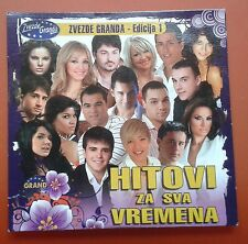 CD Hitivi Za Sva Vremena Zvezde Granda Edicija 1 Grand Production 2009 Digipak
