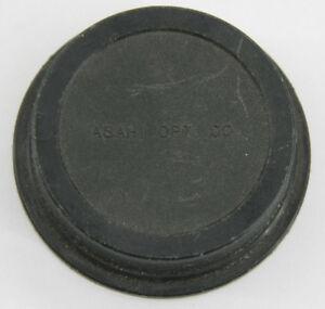 Asahi For Pentax K Mount - Rear Lens Slip On Cap Protector Plastic - USED E56G