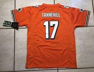 NWT NIKE Miami Dolphins Ryan Tannehill ORANGE NFL Jersey Youth XL MSRP $75