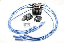 HEI Distributor Cap Coil Spark Plug Wires Cadillac 331 365 390 429 472 500 V8 BK