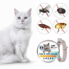 Collare antipulci per gatti Prevenzione delle pulci e zecche a 8 mesi per K6S3