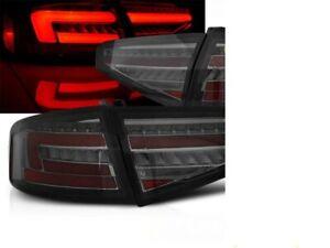 AUDI A4 B8 SEDAN SMOKED SEQUENTIAL LED LIGHTBAR TAIL LIGHTS 11/2011-8/2015