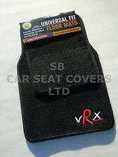 TO FIT A DODGE CALIBER, VRX SPORTS, UNIVERSAL CAR MATS, PLAIN BLACK