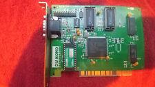 Diamond PCI VGA Card FTUPCI7642M S1 64 DRAM T PCI 23030066-203 Shipped in a box!