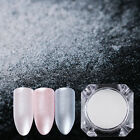 1.5g BORN PRETTY Diamant Perlen Mermaid Puder Nagel Glitter Schimmer Weiß Deko