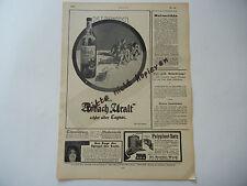 Asbach inmemorial publicidad-hoja original de la revista juventud 1911 (w009)