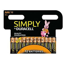 12 x Duracell AAA Long Lasting Power piles alcalines économie pack LR6 MN1500