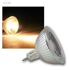 10 x mr16 lámparas LED, 3w cob blanco cálido 230lm emisor pera spot lámpara 12v