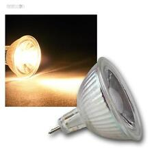 10 x MR16 LAMPADA LED, 3W Cob Bianco Caldo 230lm Faretto a pera 12V