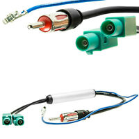 Auto Radio Antennenadapter 2x Fakra Phantomeinspeisung DIN Anschluss universal