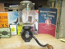 wall mount coffee grinder arcade 25 jar ORIGINAL antique mill original ATTWOOD