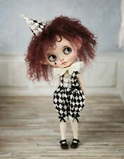 ❤ Blythe-Outfit ❤ Clown, Harlekin, Vintage, Jumpsuite, Pure Neemo S