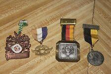 Vintage German Pin Badge Medal volkswandertag sternbild award trophy lot RARE