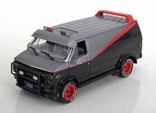 1:24 Greenlight GMC Vandura A-Team 1983 grey/black/red