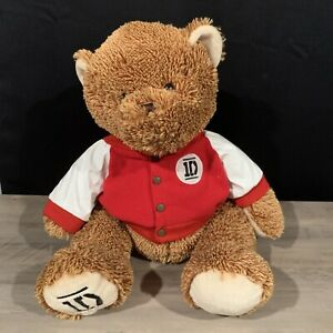 One Direction 1D - Large 22 Inch Brown Teddy Bear Plush w/ Jacket