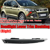 Right Passenger Side Headlight Lower Trim Moulding For Ford Escape