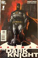 BATMAN: THE DARK KNIGHT #1, 2 (DAVID FINCH STORY/ART/COVERS!) 2010