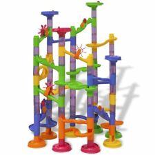 vidaXL Circuito para Canicas para Niños con 112 piezas Plastico Pista de Bolas