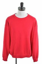 DANIEL HECHTER Mens Crew Neck Jumper Sweater 2XL Red Cotton  FI03