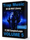 37,500+ Trap WAV Samples Loops Volume 5, Ableton Logic Pro Tools FL Studio Acid