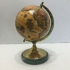 Desk Globe with Marble Base