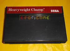 HEAVYWEIGHT CHAMP Sega Master System Versione Europea PAL ○○ SOLO CARTUCCIA - AR