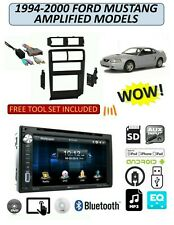 FORD MUSTANG 1994-2000 w/ AMP DVD TOUCHSCREEN USB AUX MP3 BLUETOOTH STEREO PKG