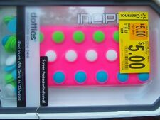 Incipio dotties pink Silicone with multi removeable dots Case for iPOD TOUCH 5TH