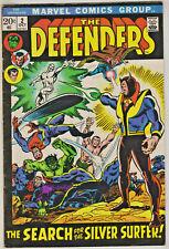 DEFENDERS#2 FN/VF 1972 MARVEL BRONZE AGE COMICS