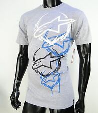 Alpinestars Racing Motocross Diagrama Gray Atletic mens T shirt size Small