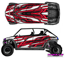 Polaris 4 RZR 900 xp Design MXVEC 015 Decal Graphic Kits Wraps Hood Scoop