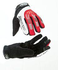 AERO Sport ® aerojump ™ BMX in discesa Guanto Junior Adulti Nero / Rosso Grande