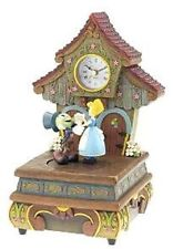 Disney Pinocchio Jiminy Figure Clock Animated Musical Limited Edition 100 NIB