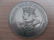 BAILWICK of GUERNSEY 1987 WILLIAM Duke of Normandy  £2 2 pounds #16.802