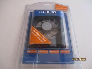 Vantec Iceberq Hard Drive Cooler HDC-701A-BK 70mm Ultra Quiet Aluminum Alloy '05
